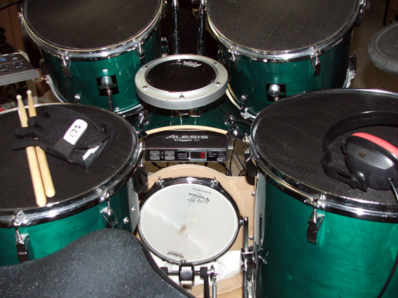 hellfire electronic drum systems integrated bass drum tmi. Black Bedroom Furniture Sets. Home Design Ideas