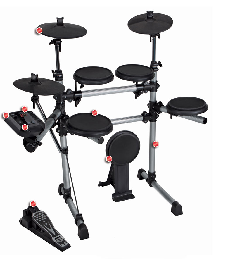 hellfire electronic drum systems new simmons sd5x. Black Bedroom Furniture Sets. Home Design Ideas