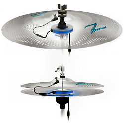 hellfire electronic drum systems updated zildjian gen16 ae cymbals. Black Bedroom Furniture Sets. Home Design Ideas
