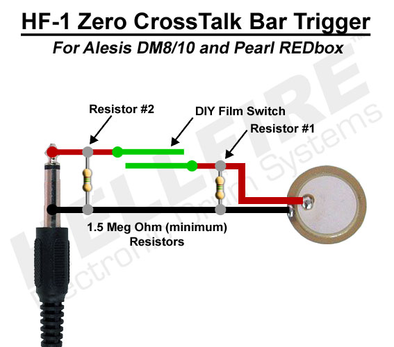 HF 1_BarTrigger hellfire electronic drum systems hf 1 zero xtalk bar trigger alesis dm10 wiring diagram at fashall.co