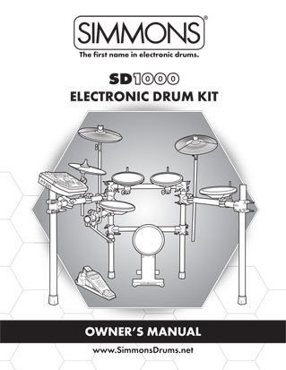 Hellfire Electronic Drum Systems Simmons Sd1000 Additional Info