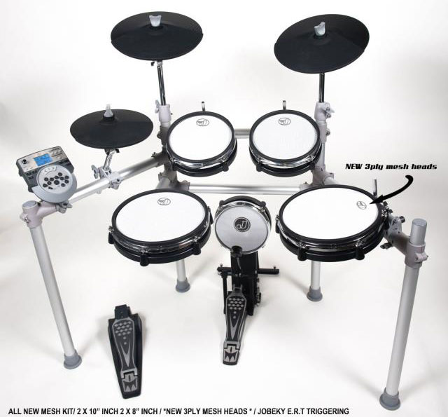 Hellfire Electronic Drum Systems Jobeky Jd 1 Electronic Drum Kit